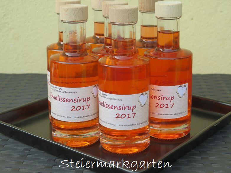 Goldmelissen-Sirup-Steiermarkgarten