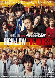 Download High & Low The Worst (2019) Full Movie Subtitle Indonesia