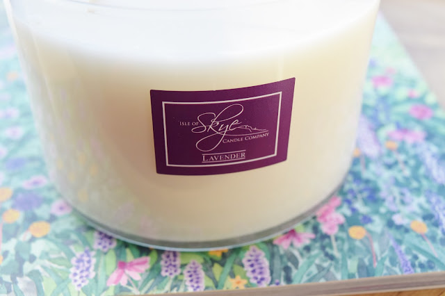 Skye Candles Lavender 3 Wick Candle