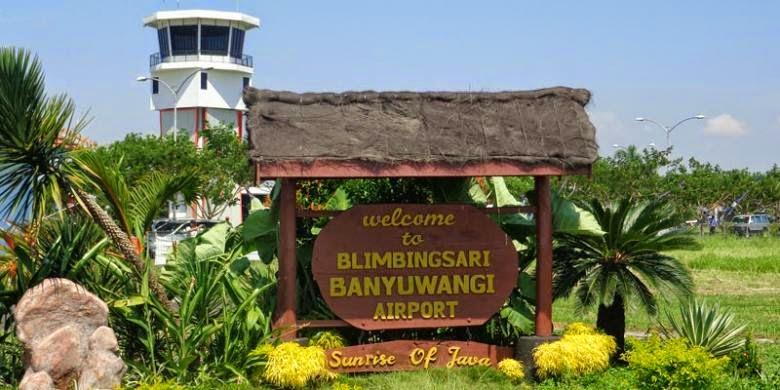Bandara Blimbingsari-Banyuwangi, Jawa Timur.