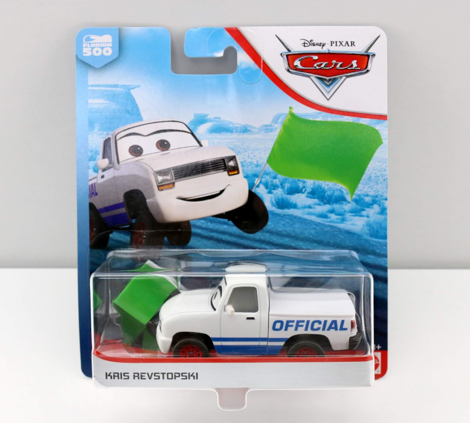 Cars 3 Kris Revstopski Green Flag Version diecast