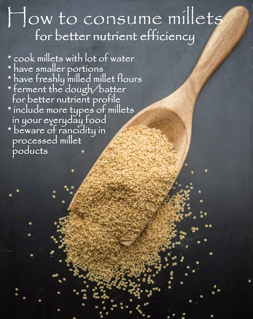 How to cook millets for better nutrient efficiency?