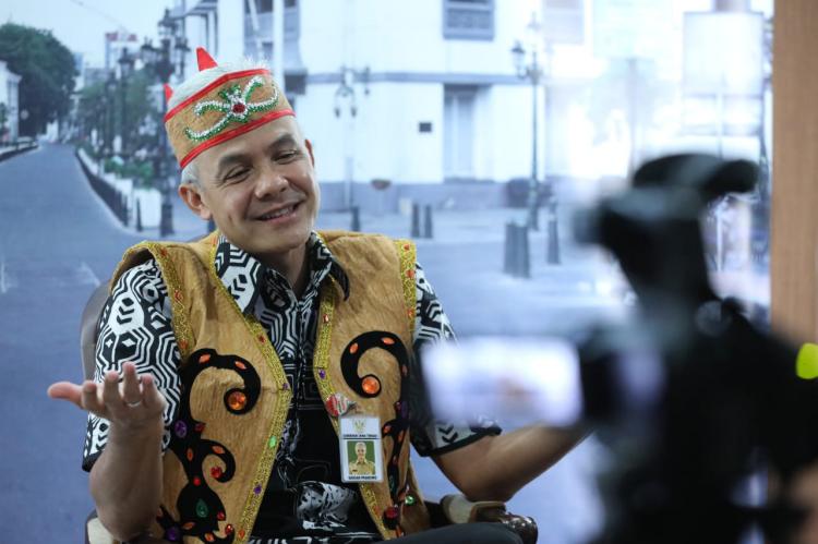 Latihan Dasar CPNS, Ganjar Tawari CPNS Kabupaten Kota untuk Magang Dengannya