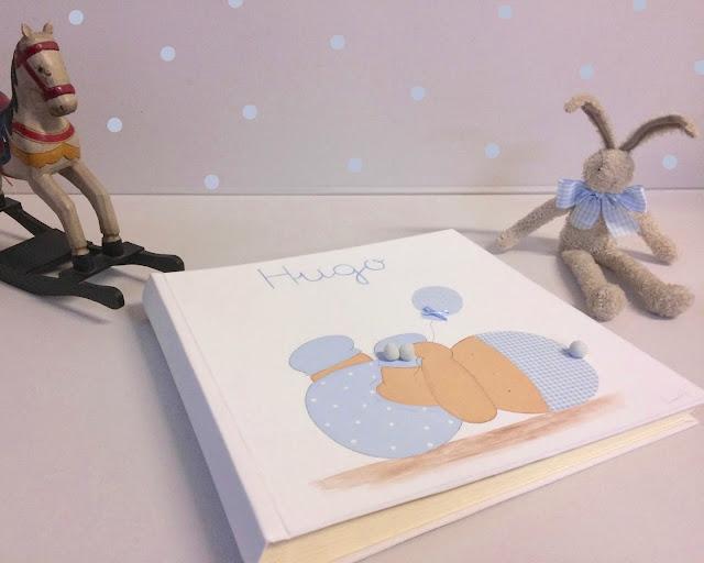bebé álbum fotos infantil personalizado
