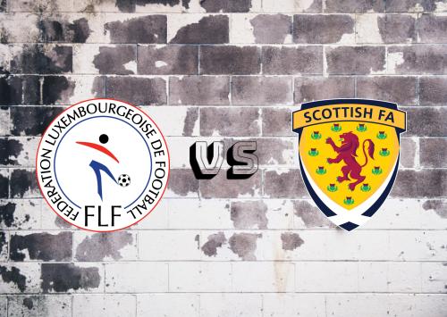 Luxemburgo vs Escocia  Resumen