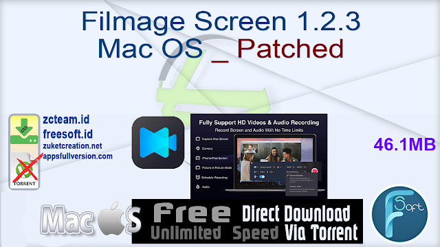 Filmage Screen 1.2.3 Mac OS _ Patched