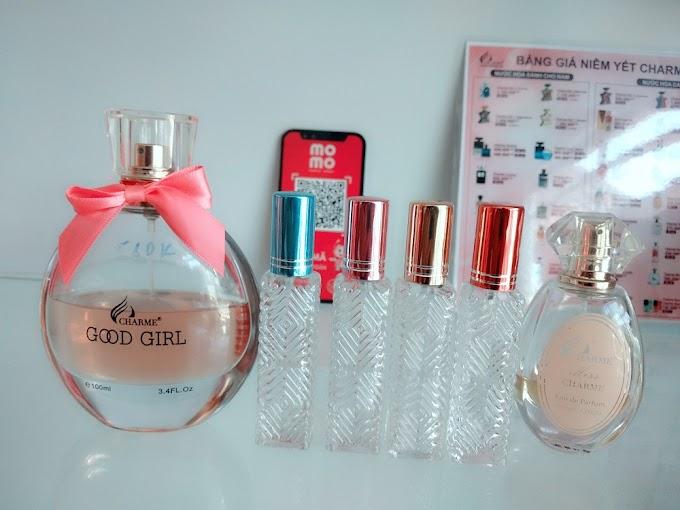 Khuyến mãi : Đồng giá 99k - Chai chiết nước hoa Good Girl và Miss Charme. Số lượng có hạn !!!