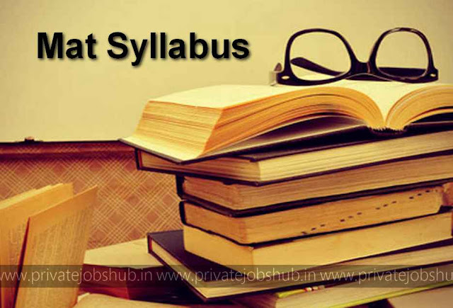 MAT Syllabus