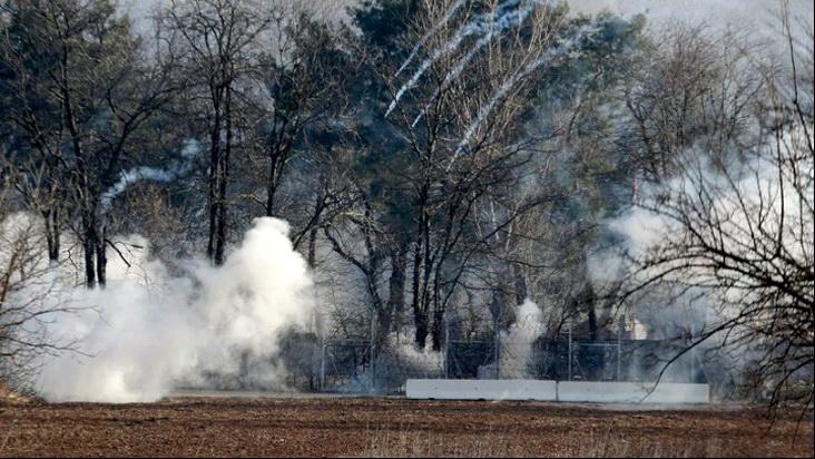 Νέα ένταση στις Καστανιές Έβρου με απρόκλητες επιθέσεις με χημικά της τουρκικής αστυνομίας