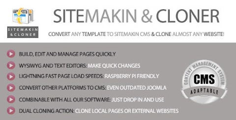 Sitemakin and Cloner - Fast CMS and Cloner