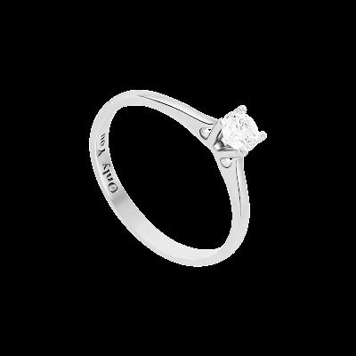 Nhẫn Kim cương Vàng trắng 14K PNJ