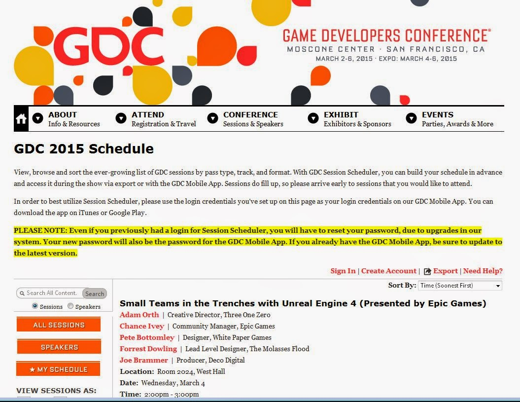http://schedule.gdconf.com/session/small-teams-in-the-trenches-with-unreal-engine-4-presented-by-epic-games