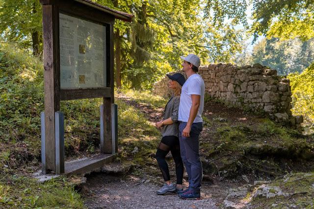 Entdeckungstouren Wasser Loisach - Kramerplateauweg - Ruine Werdenfels – Burgrain 10