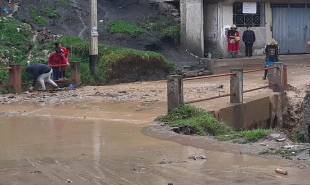 ¡Cuidado!: 384 distritos de la Sierra y 132 de la Selva en riesgo por lluvias