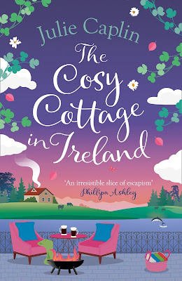The Cosy Cottage In Ireland by Julie Caplin book cover