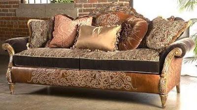 model sofa tamu  mewah untuk ruang keluarga
