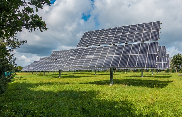 solar panel and wind electricity could be set up