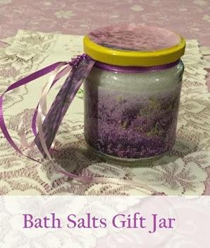 Bath Salts Gift Jar