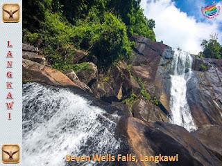 Seven Wells Waterfall, Langkawi