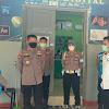 Katim Uji  Akademik Didampingi Kasubbag Dalpers Bid Seleksi, Pantau Casis Bintara Test Akademik Sistem CAT di SMK di Makassar