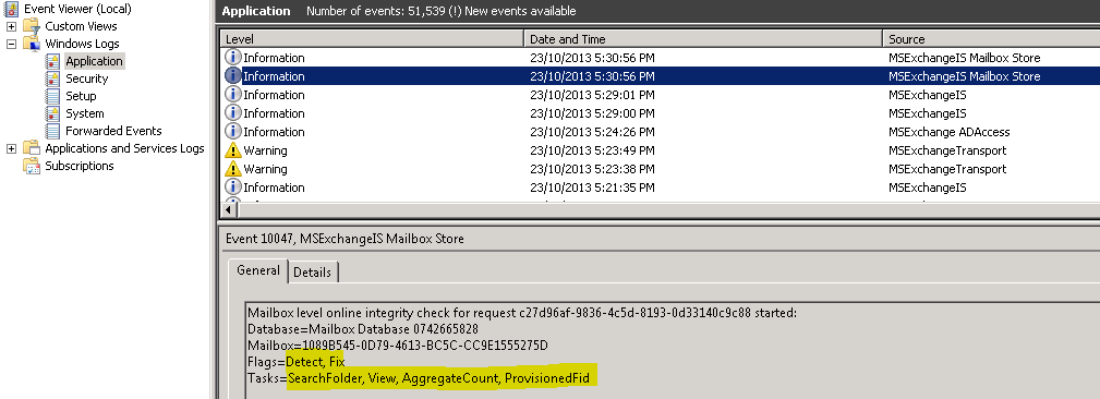 Clint Boessen's Blog: Removing a Corrupt Folder from a