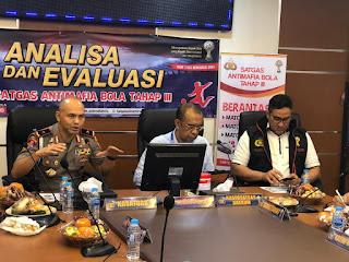 Kasatgas Anti Mafia Bola Menerima Kunjungan Silaturahmi Dari Sesmenpora RI