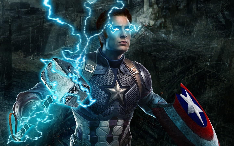 Download Ultra Hd Thor Endgame Wallpaper PNG