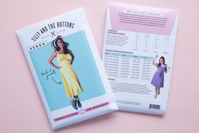 Evolution of our Pattern Envelopes - Tilly and the Buttons