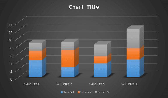 column chart in microsoft word - rean computer 101
