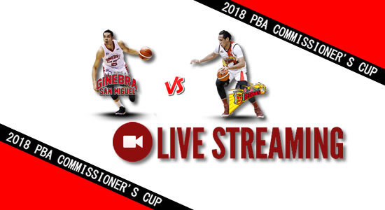Livestream List: Ginebra vs SMB June 3, 2018 PBA Commissioner's Cup