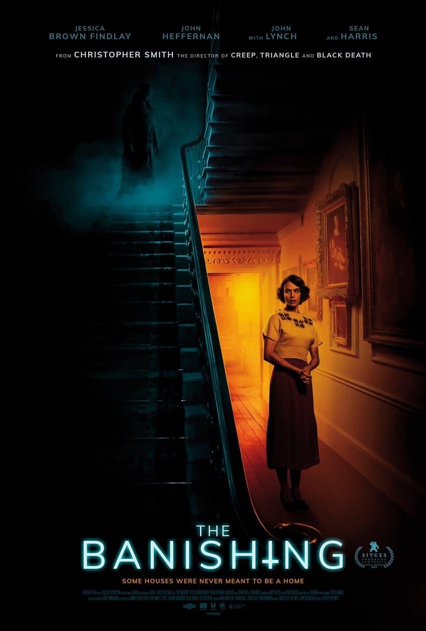 Shudder показал трейлер хоррора «Проклятие: Призраки дома Борли» - Постер