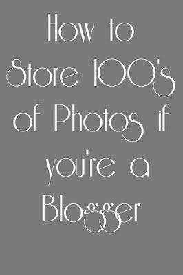 How to store 100's of Pictures if you blog