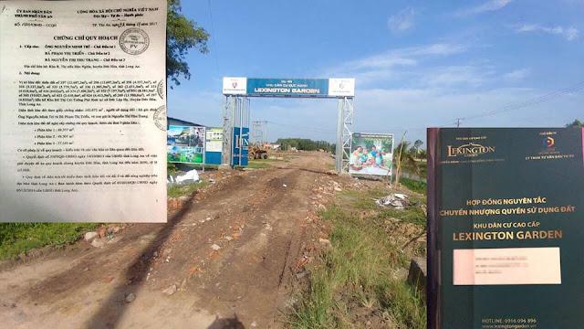 Dự án khu dân cư Đức Hạnh