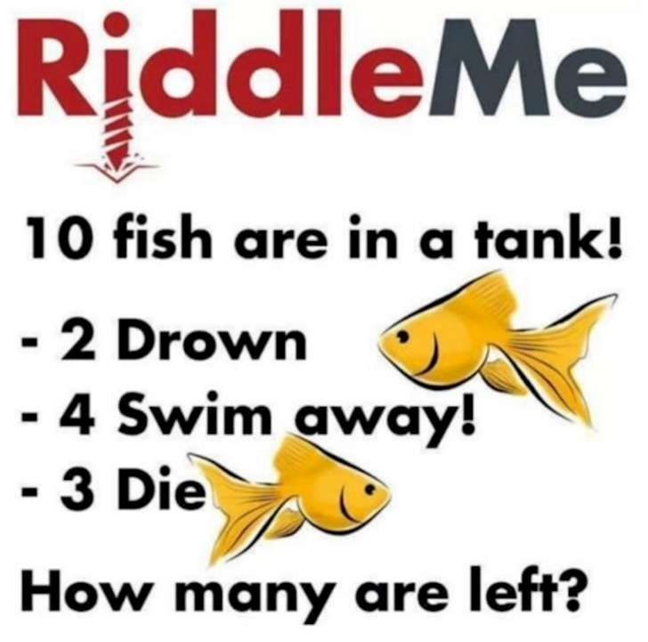 Cosmobiologist's Dream: Ten Fish in a Tank Riddle