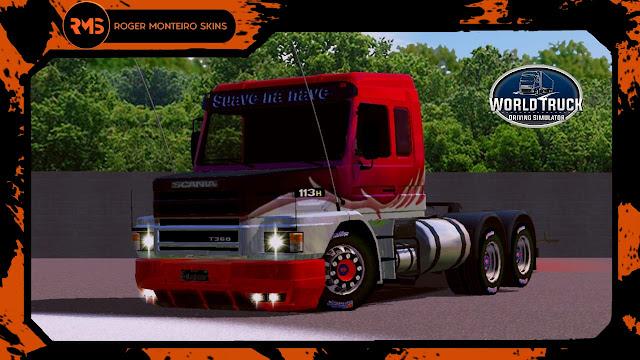 Scania 113H, Scania, 113H, Skins, Skins World Truck, Skins Wtds