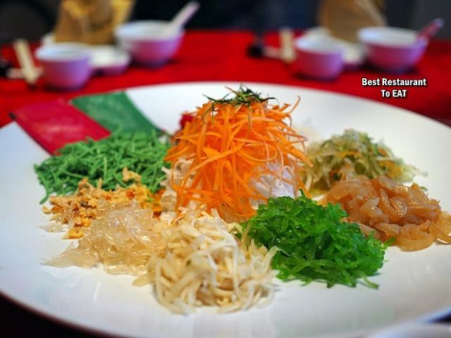 Chinese New Year Set Menu 2020 - Yee Sang