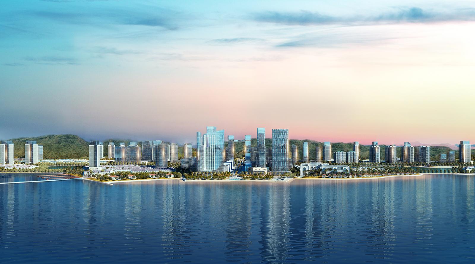 Phối cảnh khu đô thị Halong Marina do BIM Group làm chủ đầu tư