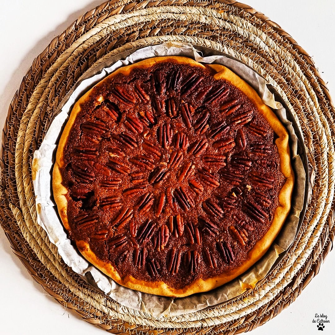 Recette tarte aux noix de pécan