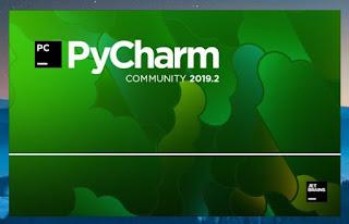 PyCharm Community Splash screen