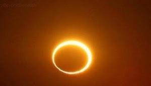 Fenomena gerhana matahari cincin lewati 25 Kota, ini waktu nya