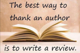 Thank a writer by writing a review