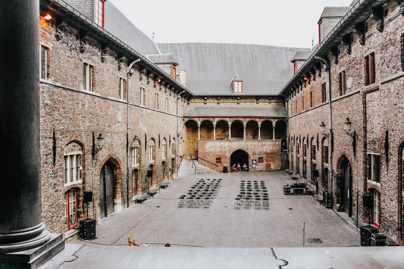 Brugge Belgium Famous Architecture