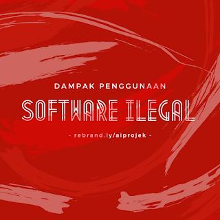 cover Dampak Penggunaan Software Ilegal