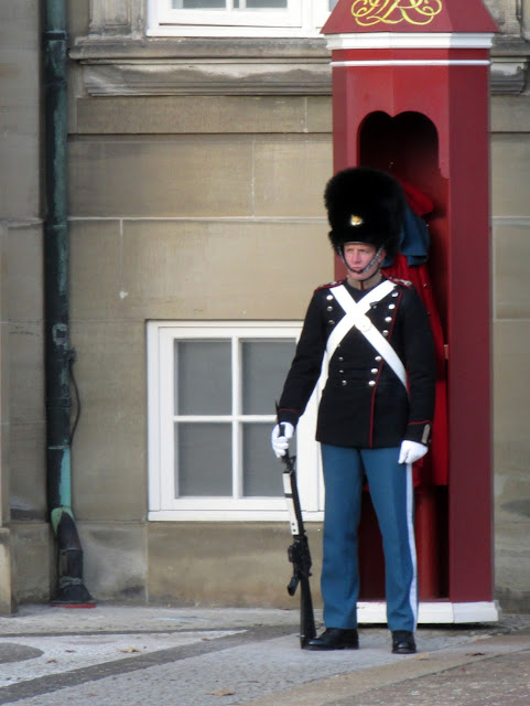 Changing of the Guard -  Amalienborg Palace, Copenhagen