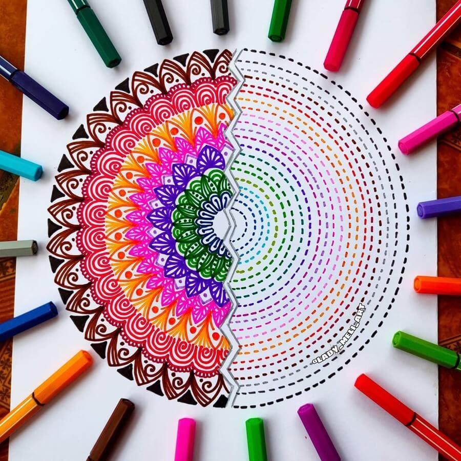 10-Mandala-shorthand-lady-meli-art-www-designstack-co