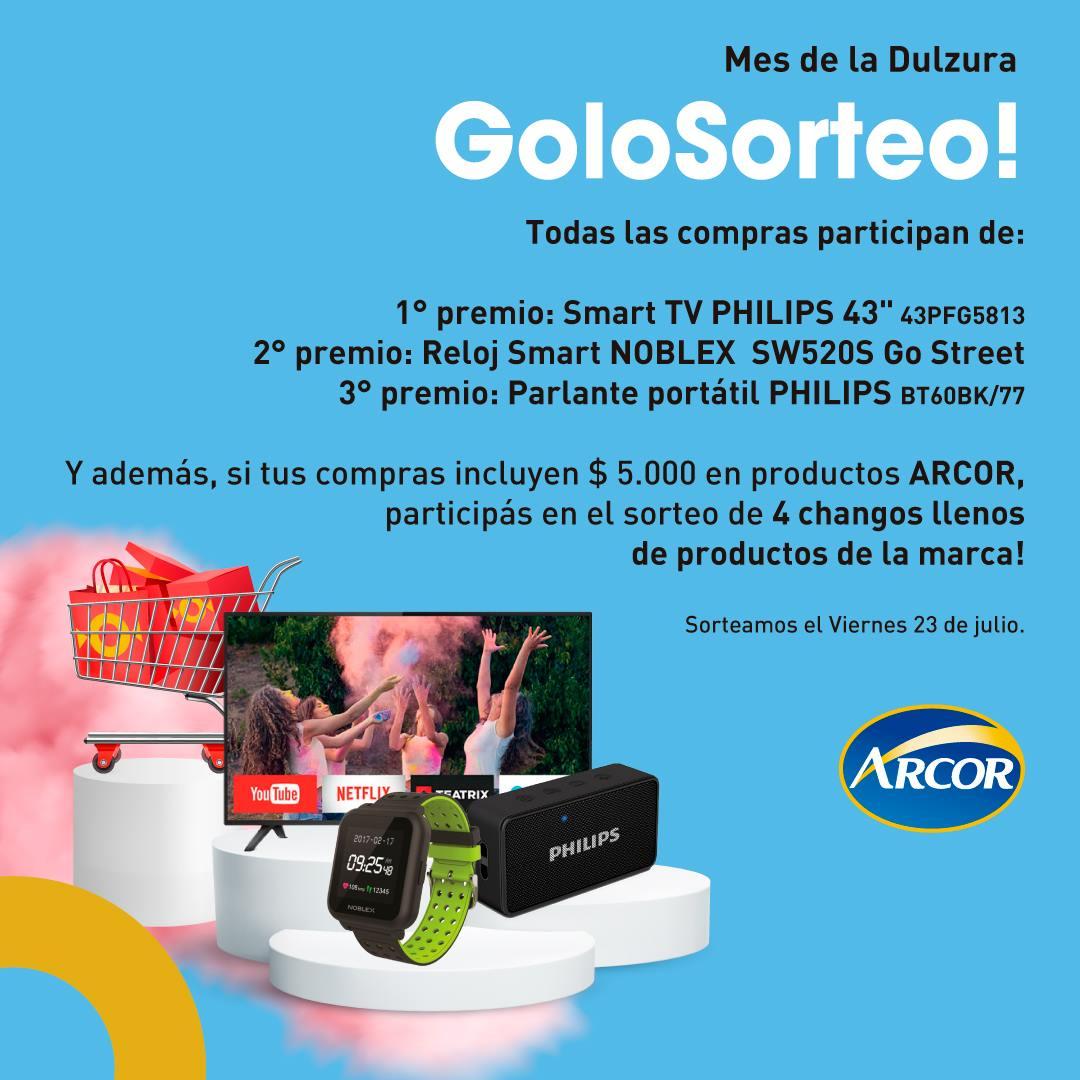 Promo Golomax Arcor