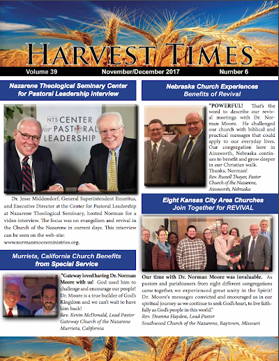 Harvest Times, Volume 39 Number 6, November - December 2017