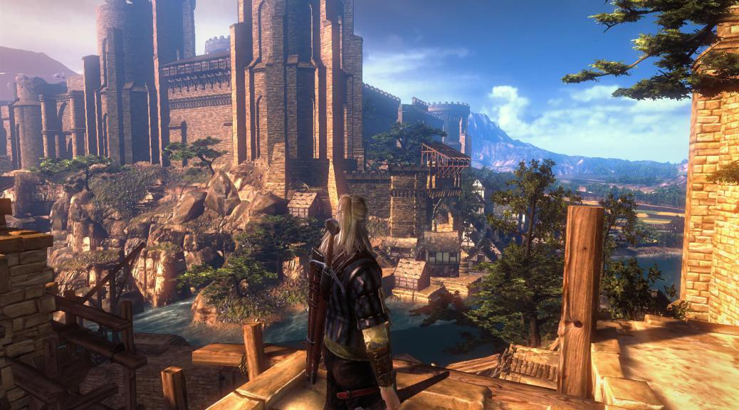 The Witcher 3 : Wild Hunt, an RPG game with elements the