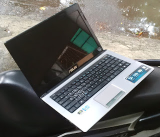 Jual Laptop Gaming ASUS A43S Core i5 Dual VGA