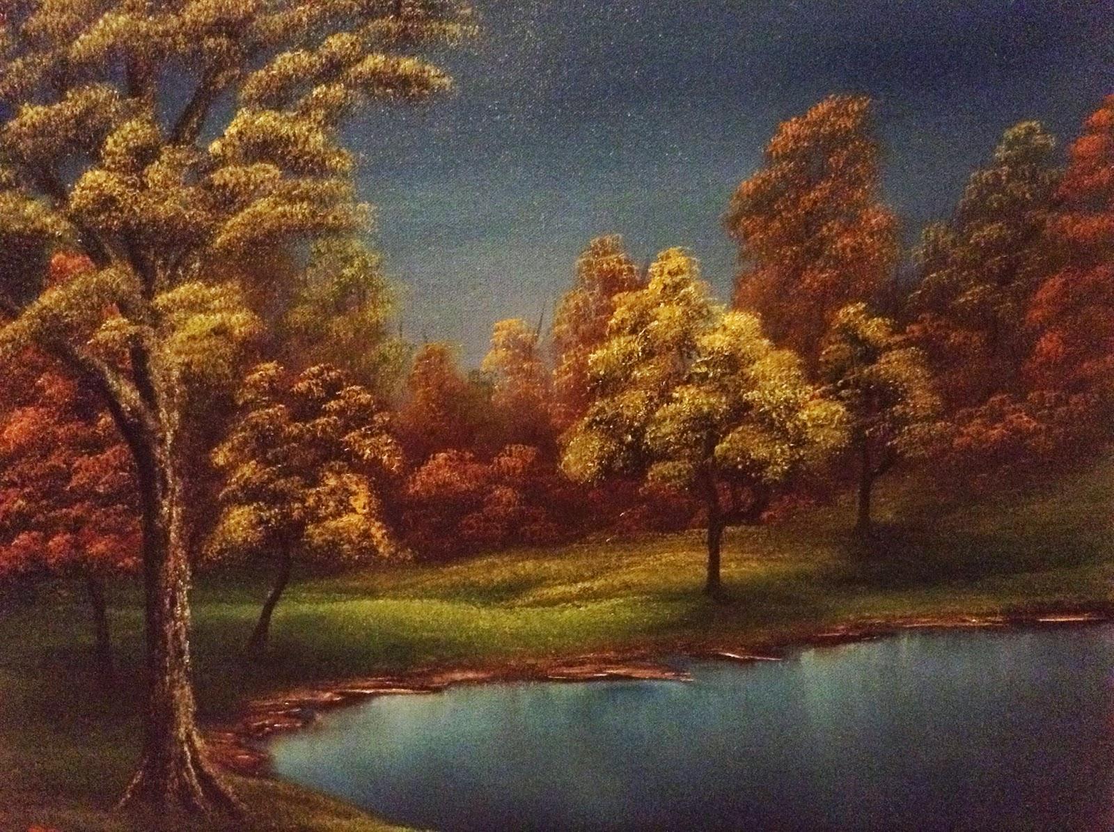 Don BelikBob Ross Painting Classes 1113  2113